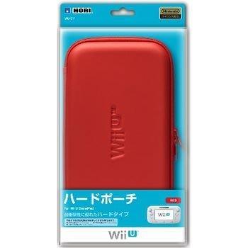 任天堂 Wii U GamePad 專用 HORI 硬殼包 收納包 紅色【台中恐龍電玩】
