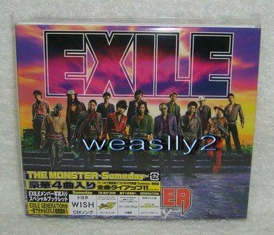 放浪兄弟Exile-The Monster -Someday-(日版初回限定盤CD~台版無此版本)免競標