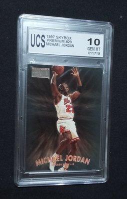 1997 免運費 Skybox #29 Michael Jordan UCS 10