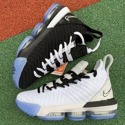 NIKE LEBRON 16 EP Equality  鴛鴦 黑白 籃球鞋 男鞋 BQ5970-100