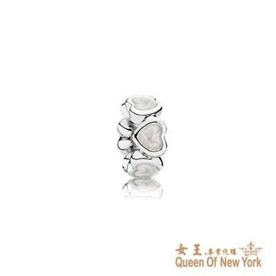 紐約女王代購 Pandora 潘多拉 琺瑯愛心間隔珠 925純銀 Charms 美國代購 可分期