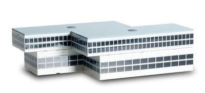 Airport building:2 Departure halls with recess 航站出境大廈登機門