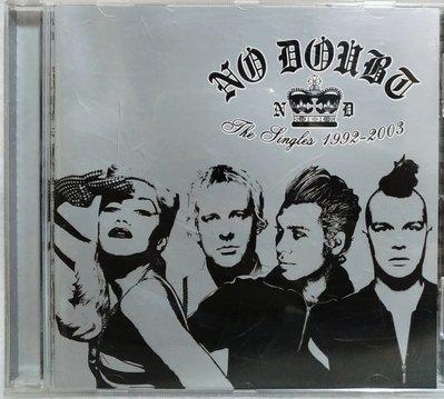 不要懷疑合唱團No Doubt / The Singles1992-2003絕不懷疑 十年精選 - 歌詞 銀圈德國版
