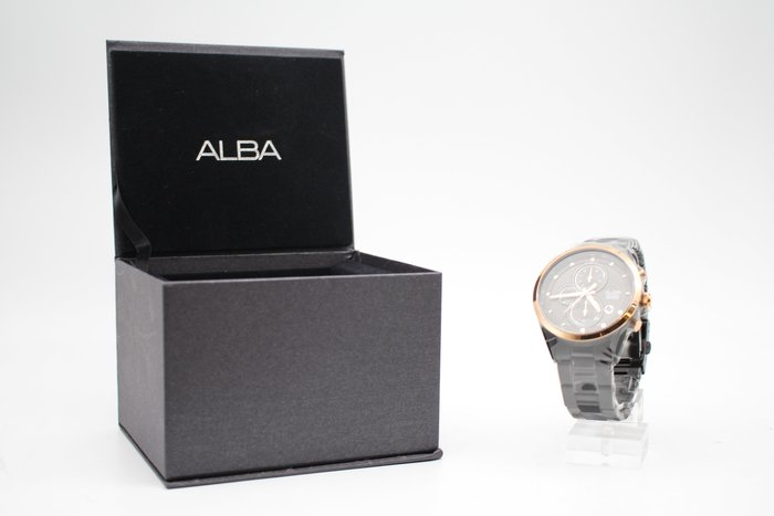 【高雄青蘋果3C】ALBA 三眼計時腕錶 VD57-X106SD AM3459X1 二手手錶 #29646