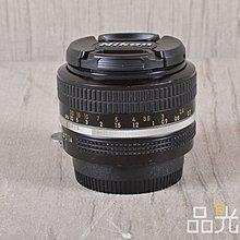 【品光數位】NIKON NON-AI 50mm F1.4 標準定焦 大光圈人像 手動 #100204