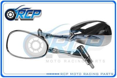 RCP YAMAHA SR400 SR 400 電鍍 後視鏡 後照鏡 台製 外銷品 923