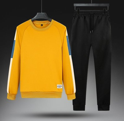 男防風外套夾克風衣2020春秋季新款可定制LOGO運動套裝男士兩件套青少年套裝休閑套裝