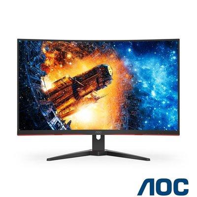 非宜花東/偏遠加價地區可免運 含稅 艾德蒙 AOC C32G2E 32型 165Hz曲面電競螢幕