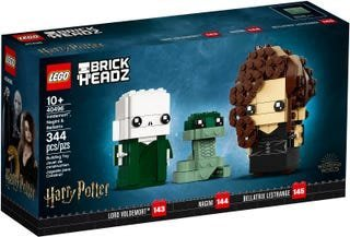 [預訂 公司貨] LEGO 40496 Voldemort™, Nagini & Bellatrix 佛地魔