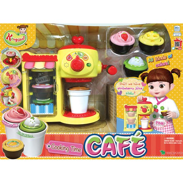 小荳娃娃KONGSUNI配件 甜蜜咖啡店 (YOUNG TOYS) 31037