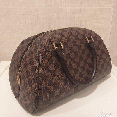 《LV》 Louis Vuitton 9.9 成新 經典 棋盤格 元寶包 水餃包 誠可議價