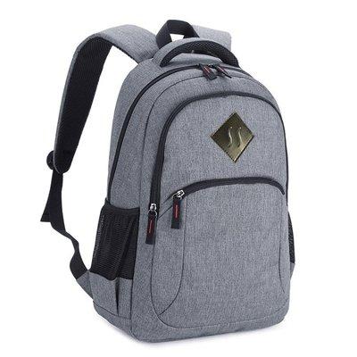 背包男士高中初中學生書包青年時尚帆布簡約旅行包女大容量雙肩包