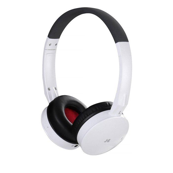 JS淇譽HMH039 藍牙無線立體聲耳機+麥克風 高級頭戴式可折疊內置鋰電白色款~另有黑色/橘色可選購