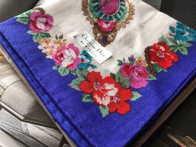 東京攜回日本??製Dior 女性手帕手絹隨身手帕,約46/46