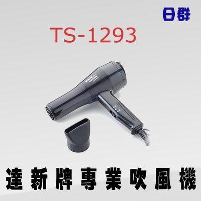 【日群】達新專業吹風機 TS-1293另售FD-639 TS-1280 TS-1293G TS-318A TS-2670