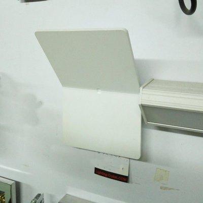 燈飾倉 -  現代簡約白色 LED 長方形 壁燈 - 大平賣