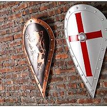 復古中世紀羅馬盾牌龍立體壁飾~loft 民宿 餐飲 居家 攝影(兩款可選)