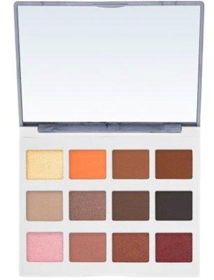 【愛來客 】美國 BH Cosmetics Marble Collection 大理石 暖色調 12色眼影盤