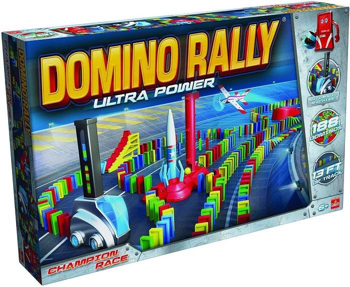 ~❤美國寶寶的衣櫥❤~(獨家現貨)德國益智Goliath Domino Rally 自動骨牌桌遊 生日禮 (共有兩款)