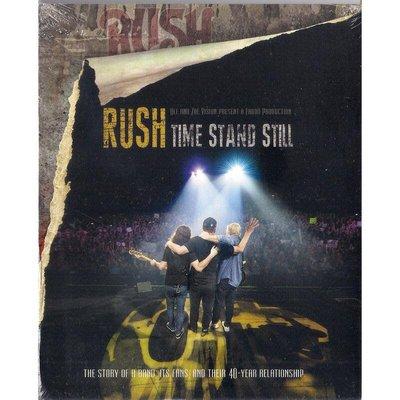 【全新未拆,殼損】Rush 匆促合唱團:Time Stand Still 留住永恆-告別巡迴演唱會DVD《歐版》