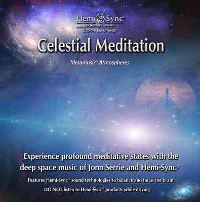 [心靈之音]天界靜心 Celestial Meditation-美國孟羅Hemi-Sync雙腦同步CD-美國進口原裝新品