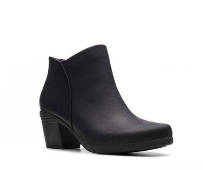 【英國代購】⑤ Clarks Un Lindel Zip Black Oily Leather 售價5180元