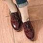 0101  丹妮鞋屋 早秋新品 牛津鞋 微醺絕美漆皮綁帶牛津鞋 MIT台灣製造手工鞋 丹妮鞋屋