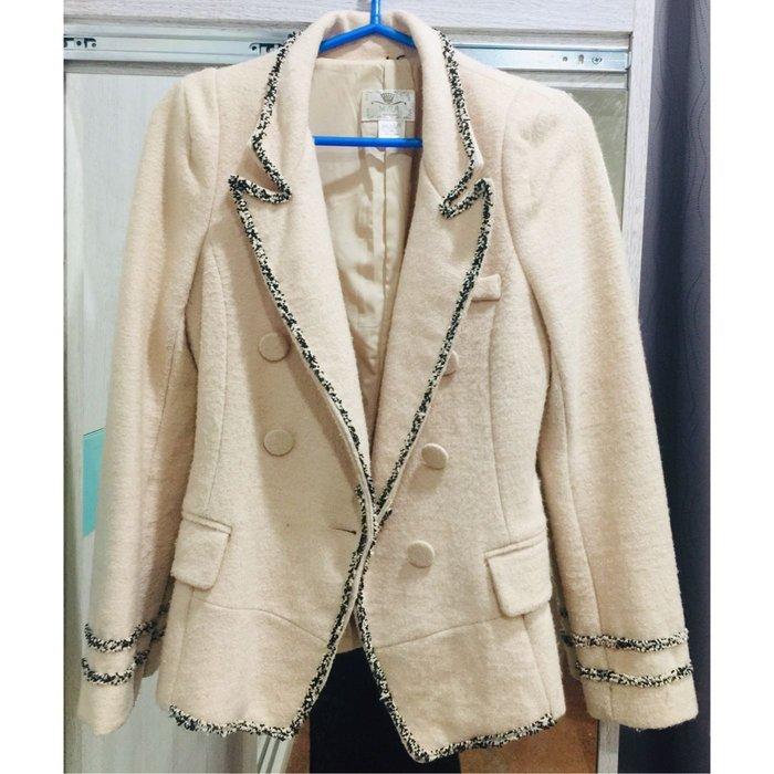 小香西裝大衣