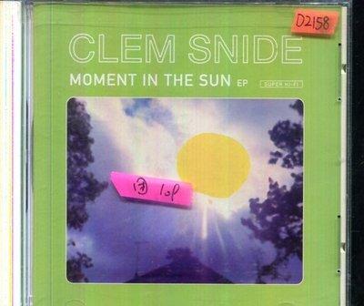 *還有唱片四館* CLEM SNIDE / MOMENT IN THE SUN 二手 D2158