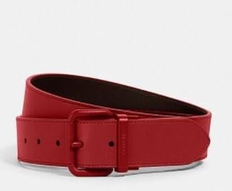COACH 男生款雙面用3.8公分寬版皮帶