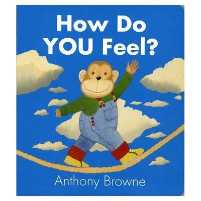 現貨@特賣@How Do You Feel with Anthony Brown's 正視寶寶情緒 安東尼·布朗 你心情