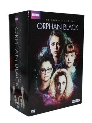 【優品音像】 美劇 黑色孤兒 Orphan Black高清原聲英語完整版DVD未刪減15碟片 精美盒裝