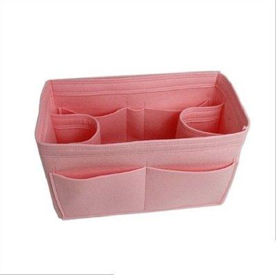水壺款毛氈加厚收納包中包【NF503】大容量收納袋 毛氈化妝收納包水壺款