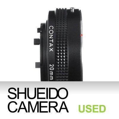 集英堂写真機【6個月保固】中古美品 / CONTAX EXTENSION TUBE 20mm 近攝 接寫環 9306