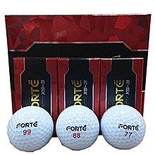 藍鯨高爾夫 FOREMOST GOLF FORTE XS-3高爾夫三層球(77.88.99)雙號數