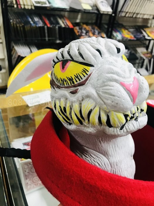 [808 MAGIC]魔術道具 生氣的兔子 憤怒 兔 暴力兔 邪惡兔 壞兔兔 橡皮材質 可以縮到拳頭大小