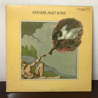 晨雨黑膠【爵士】美版/Fathers And Sons - Muddy Waters /2片裝, 摺頁