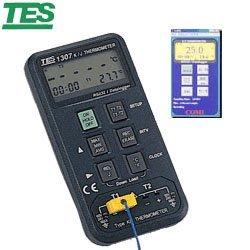 【電子超商】泰仕 TES-1307 K/J 記憶式溫度錶 RS232可接電腦