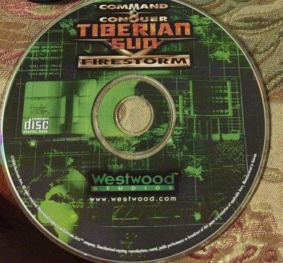 PC GAME--終極動員令泰伯倫戰爭資料片--FIRESTORM/2手