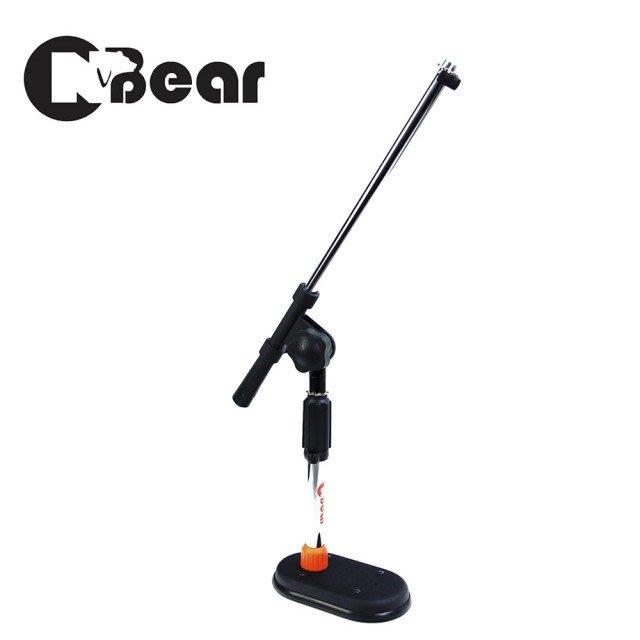 ☆唐尼樂器︵☆ CNBear K-503 桌上型麥克風架/三腳架/相機架(直架斜架兩用/底座1.55公斤)