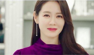 *Miss Ha Ha*F032韓.愛的迫降孫藝珍同款 水滴鋯石鑽流蘇夾式耳環.現貨200310