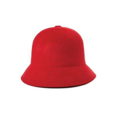 [CABAS滑板店] BRIXTON ESSEX BUCKET HAT 紅   純羊毛 漁夫帽 鐘形帽