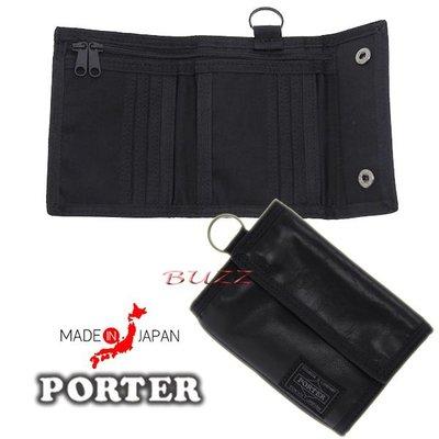 巴斯 日標PORTER屋- 預購 PORTER ALOOF 牛革皮夾-短夾 023-01084