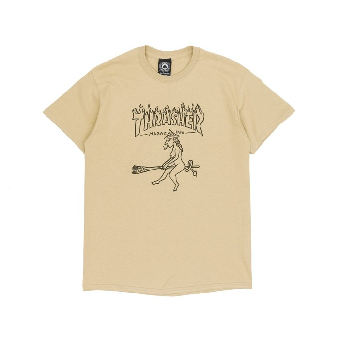 THRASHER WITCH S/S-TAN【HopesTaiwan】