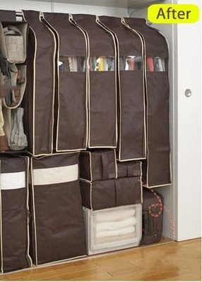 防塵罩 10件套  防塵套 收納箱 鞋子收納 棉被收納 居家收納 縫隙收納 我們的創意生活館 【3D097】