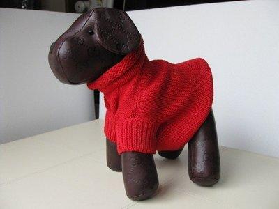 [熊熊之家]全新正品[GUCCI] 毛衣(狗毛衣)-1 寵物用品 (黑色) Gucci寵物用品