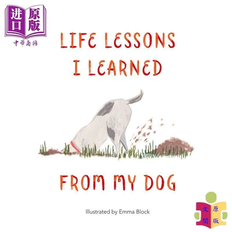 [文閲原版]Life Lessons I Learned from my Dog 英文原版 汪教我的人生哲學 Emma