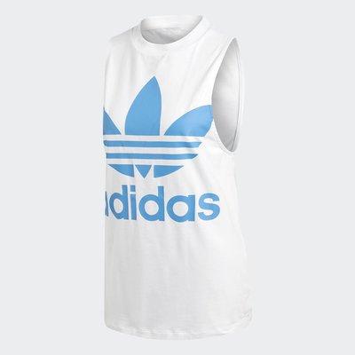 【Footwear Corner 鞋角 】Adidas OG Trefoil Tank Top White 藍三葉草背心