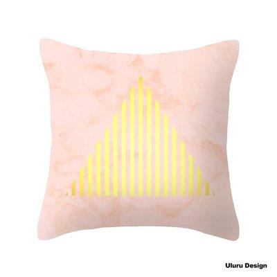 歐美風格 Pink Marble 抱枕 枕套/枕芯 Uluru Design 客廳 Loft 工業風 鄉村風 居家裝飾