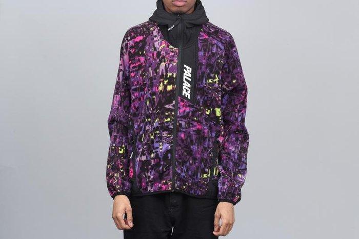 現貨 S號 版大 限量 Palace Trekno Fleece 刷毛 連帽 外套 19SS 滑板